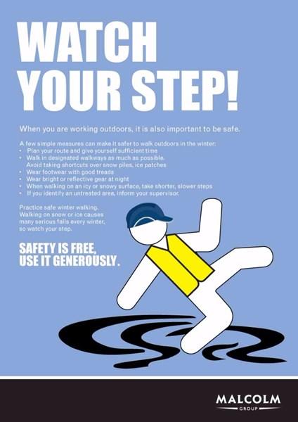 Health & safety.