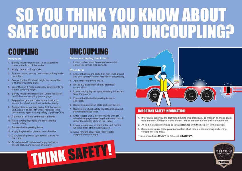 Coupling And Uncoupling : Health safety